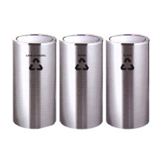 Stainless-Steel-Flip-Top-Recycle-Bin-221SS