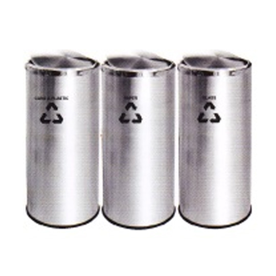Stainless-Steel-Flip-Top-Recycle-Bin-234SS