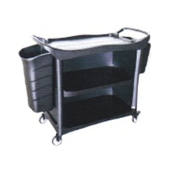 3 Tiers Utilities Cart 3 Side Cover & Bucket