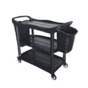 3 Tiers Utilities Cart Bucket