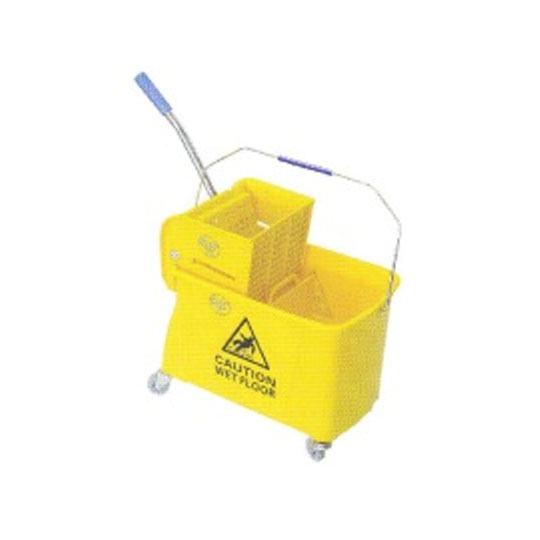 Single Wringer Mop Bucket Side Press