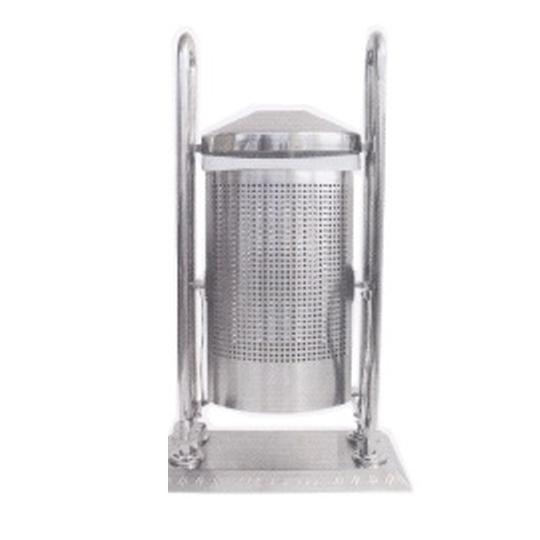 Stainless-Steel-Outdoor-Waste-Bin-159