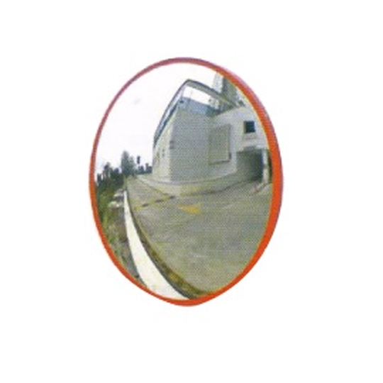 Indoor Convex Mirror with Cap (Wall Mounted)