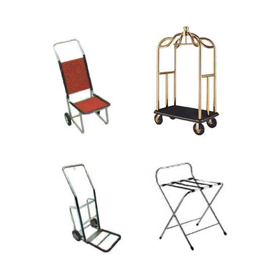 Luggage Trolleys, Carts & Stands