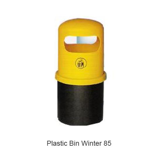 Plastic Bin Winter 85