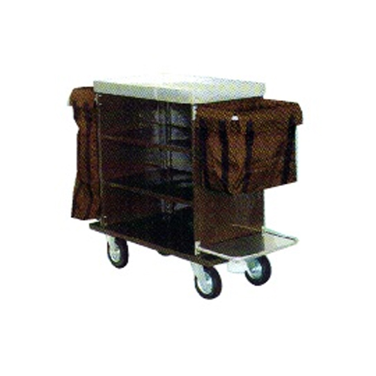 Powder Coating Maid Trolley
