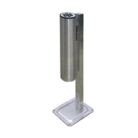 Smoke Bin cw Pole & Base ASH178