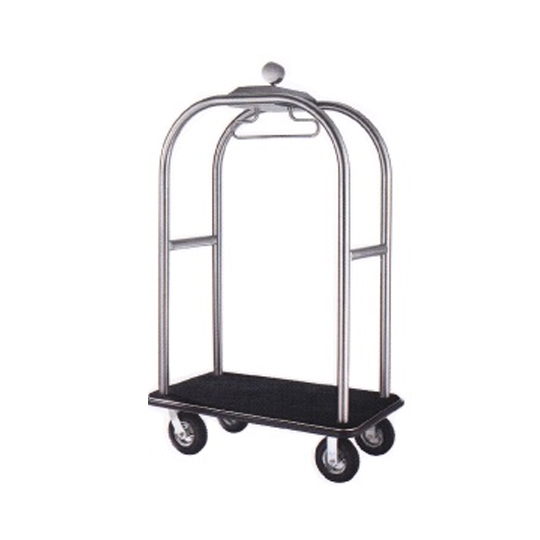 Stainless Steel Birdcage Styling Cart (Hairline Finish)  BCT412
