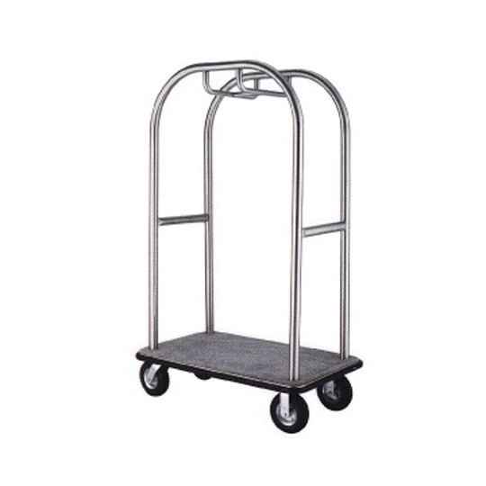 Stainless Steel Birdcage Styling Cart (Hairline Finish) BCT413