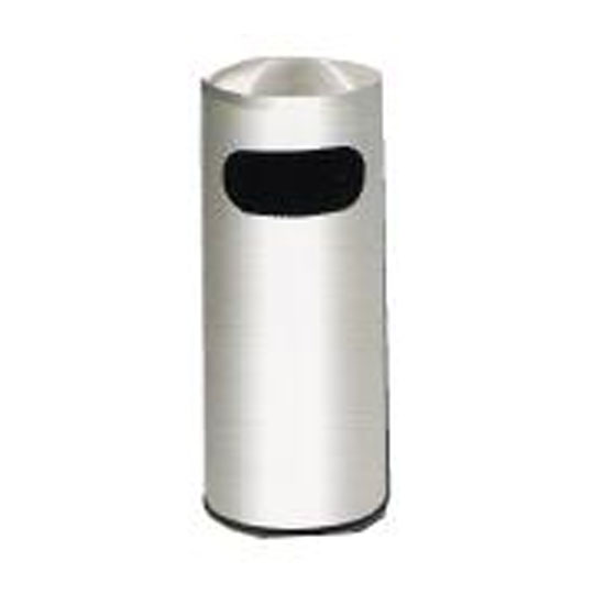 Stainless Steel Litter Bin Dome Top RAB043D