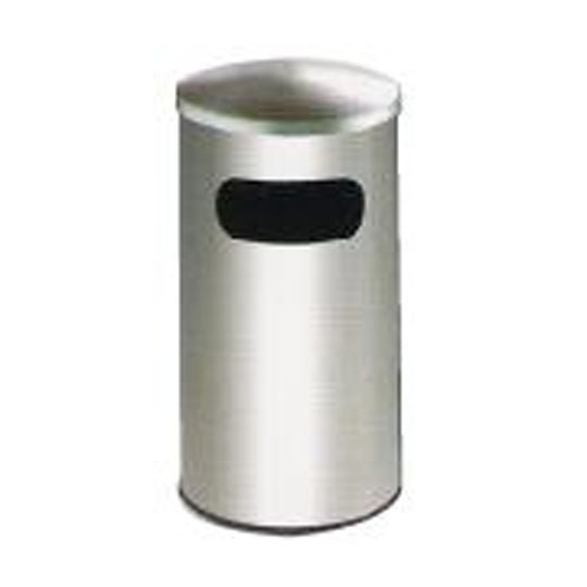 Stainless Steel Litter Bin Dome Top RAB051