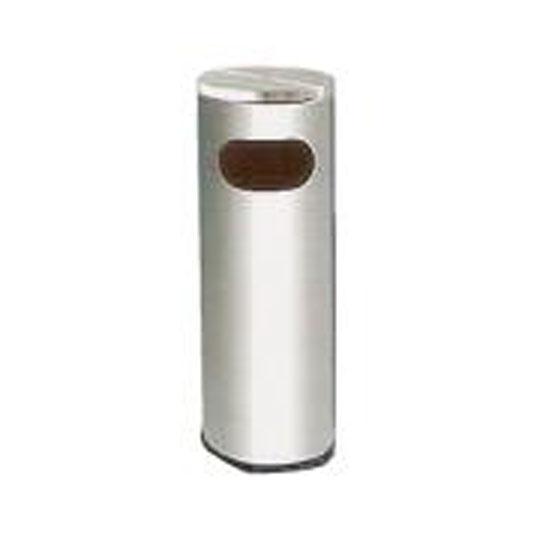 Stainless Steel Litter Bin Flat Top RAB001AF