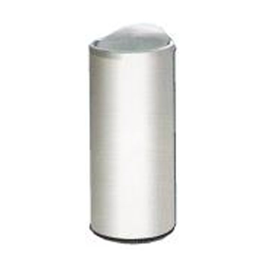 Stainless Steel Litter Bin cw Flip Top FT031