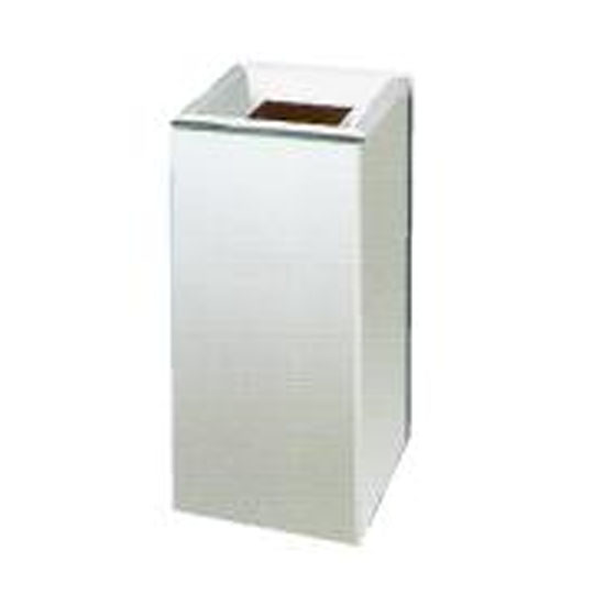 Stainless Steel Open Top Square Litter Bin SQB005