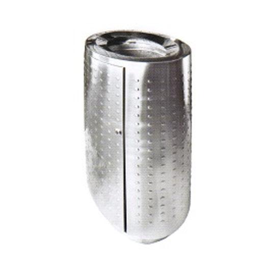 Stainless Steel Oval Waste Bin Open Top RAB142OT