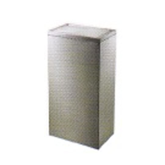 Stainless Steel Rectangular Bin – Automatic Stop Just One Swing LD-RFT065