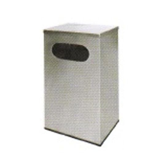Stainless Steel Rectangular Waste Bin Flat Top RAS119F