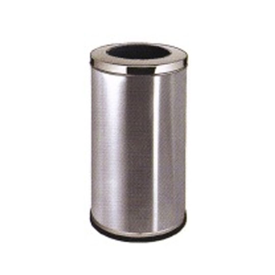 Stainless Steel Round Waste Bin Open Top LD-RAB013