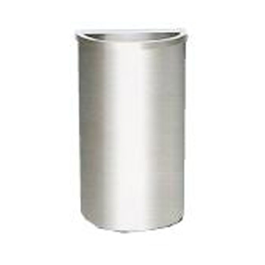 Stainless Steel Semi Round Bin Open Top SRB044OT