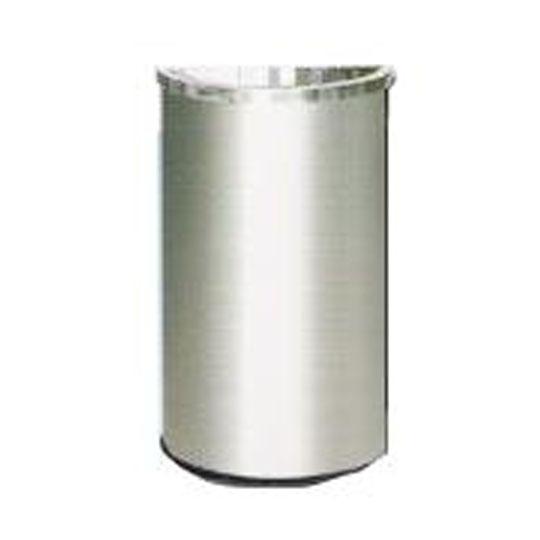 Stainless Steel Semi Round Bin Open Top SRB055OT