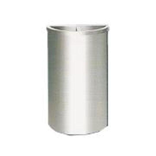 Stainless Steel Semi Round Bin SRB037