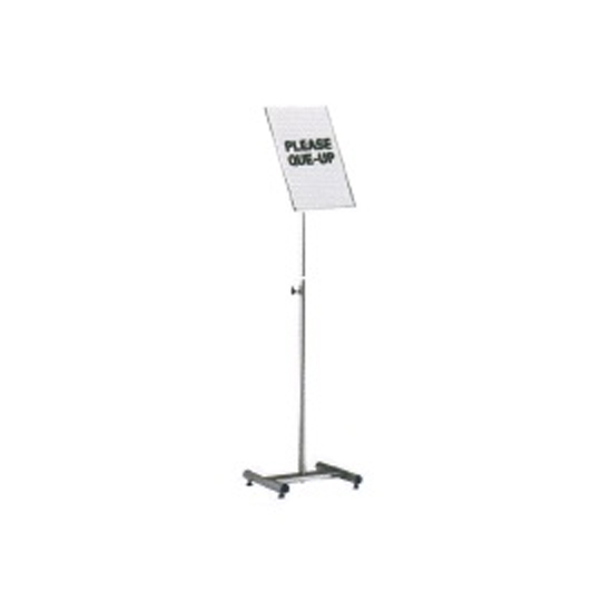 Stainless Steel Sign Board Stand SBS057