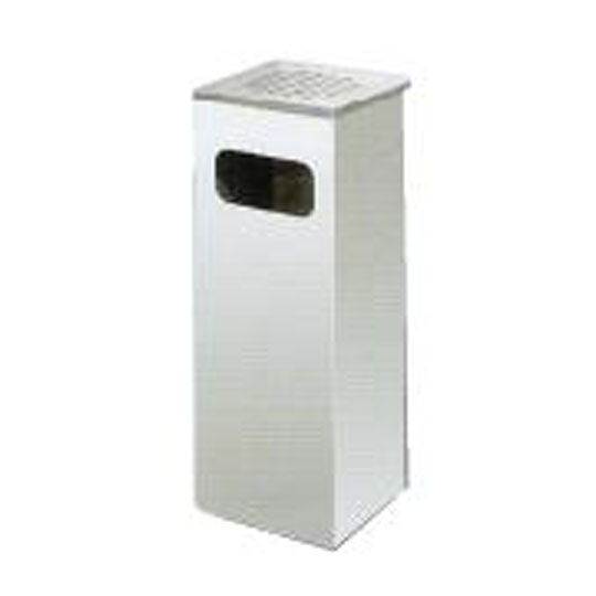 Stainless Steel Square Ashtray Bin SQB003