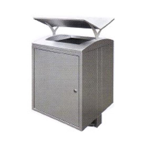 Stainless Steel Square Waste Bin Open Top SQB157OT