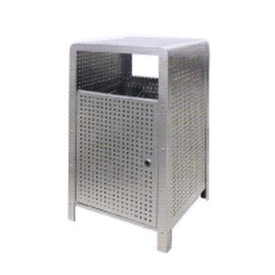 Stainless Steel Square Waste Bin SQB156