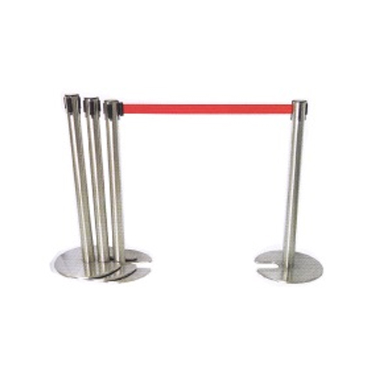 Stainless Steel Stackable Retractable Q-Up Stand
