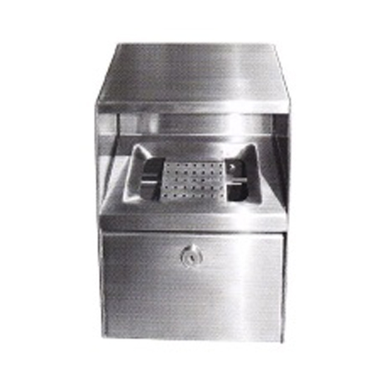 Stainless Steel Wall Mounted Ashtray Bin WMA166