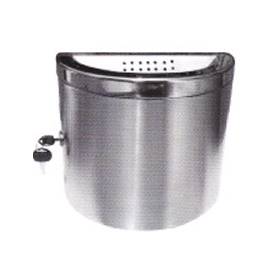 Stainless Steel Wall Mounted Ashtray Bin WMA167
