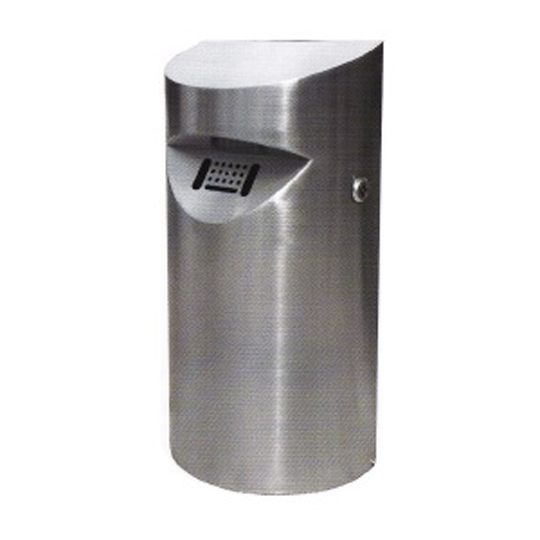 Stainless Steel Wall Mounted Ashtray Bin WMA172