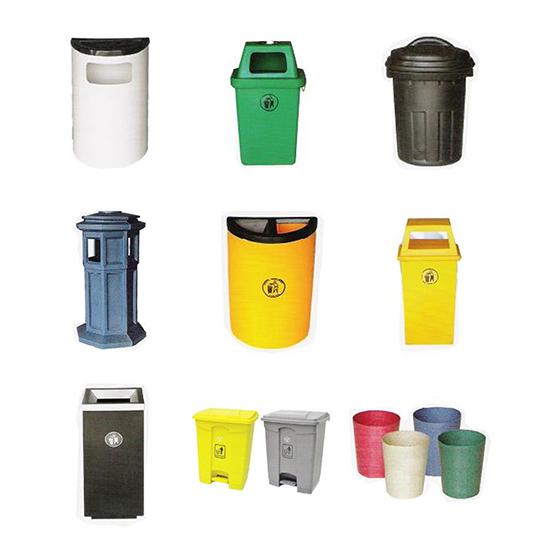 Polyethylene & Fiberglass Bins