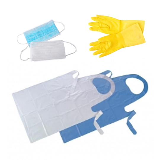 Mask / Glove / Apron / Protective Clothing