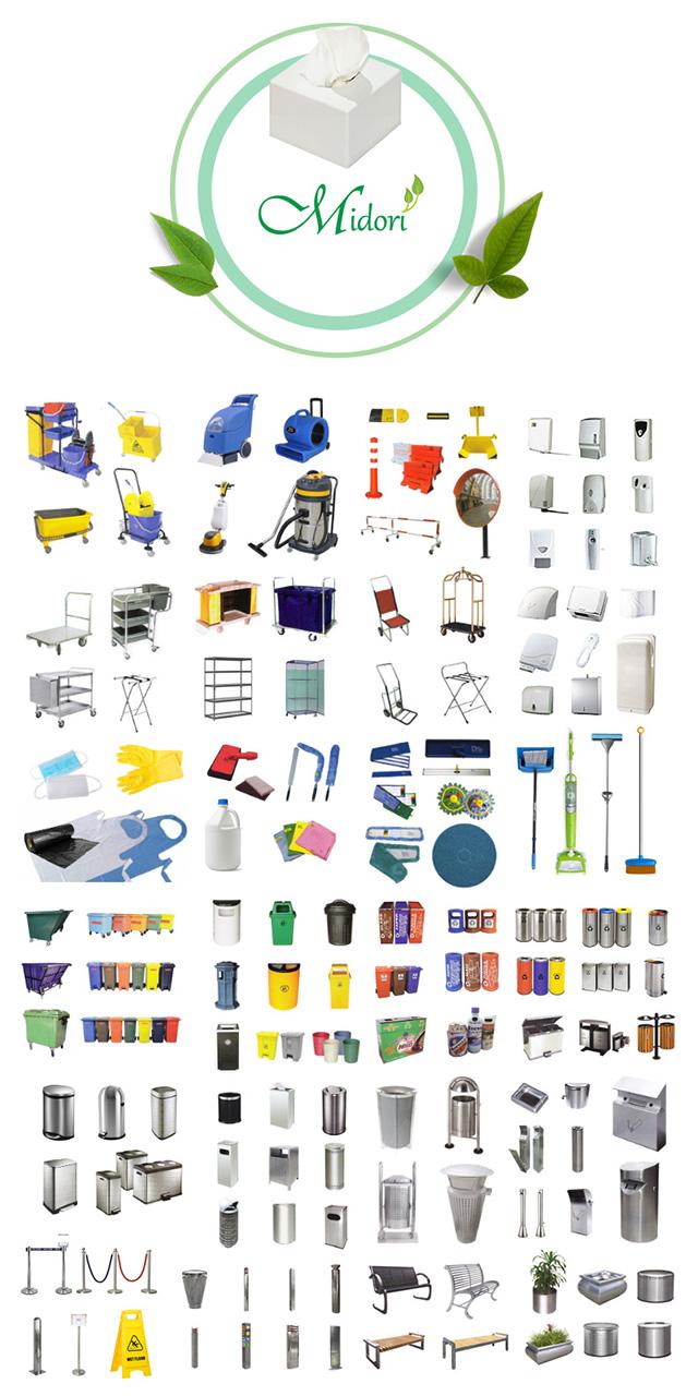 Midori products range